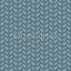 Alpine Oak Seamless Vector Pattern Design
