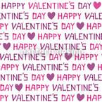 Valentinstag Nahtloses Vektor Muster
