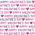 Valentinstag Nahtloses Vektormuster