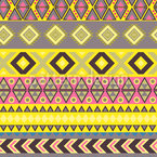 Stripe Kilim Seamless Vector Pattern Design