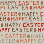 Happy Easter Vector Pattern