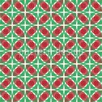 Rhomb And Circle Seamless Pattern
