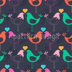 Funky Palomas Seamless Vector Pattern Design