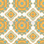 Sonnige Kacheln Vektor Muster