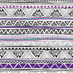 Ethno Chevron Seamless Vector Pattern Design