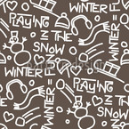 Wintergames Decoration Repeat Pattern