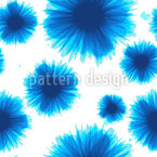 Flower Blots Seamless Vector Pattern Design