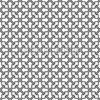 Moorish Lattice Seamless Vector Pattern Design
