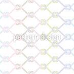 Knotted Fishing Net Seamless Vector Pattern Design
