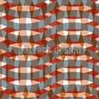 The Network Of Waves Seamless Vector Pattern Design