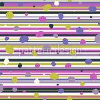 Punkte Und Streifen Musterdesign