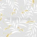 Goldene Libellen Nahtloses Vektormuster