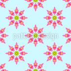 Oriental Florets Vector Design