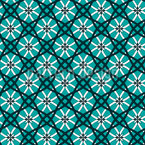 Netz Aus Blüten Vektor Ornament