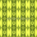 Retro Olive Seamless Vector Pattern Design