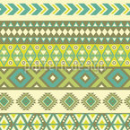Ethno Stripes Kilim Seamless Vector Pattern Design