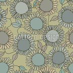 Sunflower Joy Seamless Vector Pattern Design
