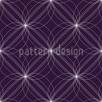 Bizâncio Moderno Design de padrão vetorial sem costura