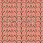 Autumn Blossoms Seamless Pattern