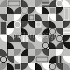 Tile Fragments Seamless Vector Pattern Design