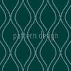 Retro Ogee Seamless Vector Pattern Design