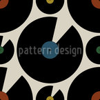 Good Old Vinyl Seamless Vector Pattern Design