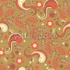 Dream Of Paradise Seamless Vector Pattern Design