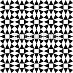 Black Diamond Illusion Seamless Vector Pattern Design