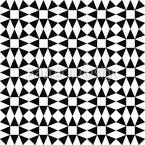 Schwarzer Diamant Illusion Nahtloses Vektormuster