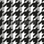 Houndstooth Variation Seamless Vector Pattern Design