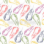 Feather Dream Seamless Vector Pattern Design