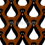 Sir Penguin Seamless Vector Pattern Design
