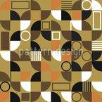 Mosaik Fragmente Nahtloses Vektormuster