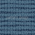 Circles And Stripes Seamless Vector Pattern Design