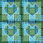 Zuneigung Zum Quadrat Muster Design