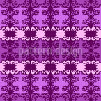 Blur Damask Seamless Vector Pattern Design