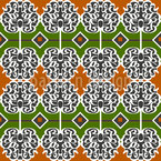 Opulent Bordure Seamless Vector Pattern Design