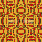 African Surprise Seamless Vector Pattern Design