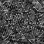 Netzartige Kreise Nahtloses Vektormuster