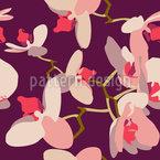 Orchideen Rapportiertes Design