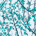 Tree Branches Seamless Vector Pattern Design