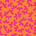 Leaf Silhouettes Pattern Design