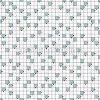 Crossword Seamless Vector Pattern Design