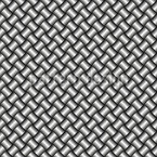 Metal Weave Seamless Vector Pattern Design