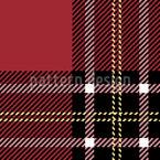 Schottischer Tartan Nahtloses Vektormuster