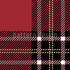 Scottish Tartan Seamless Vector Pattern Design