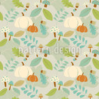 Autumn Bliss Seamless Vector Pattern Design