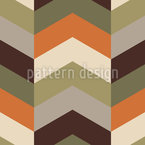 Chevron Safari Design de padrão vetorial sem costura