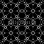 High Tech Connection Seamless Vector Pattern Design