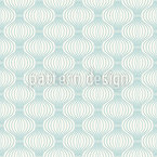 Wire Ogee Seamless Vector Pattern Design